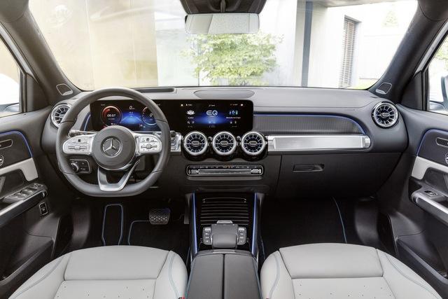 Mercedes-Benz EQB chào sân: GLB của xe điện, chỉ bán cho đại gia Trung Quốc trong năm 2021 - Ảnh 9.