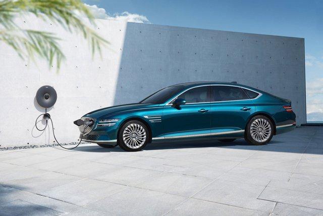 Genesis Electrified G80 - Đỉnh cao xe điện hạng sang của Hyundai - Ảnh 1.