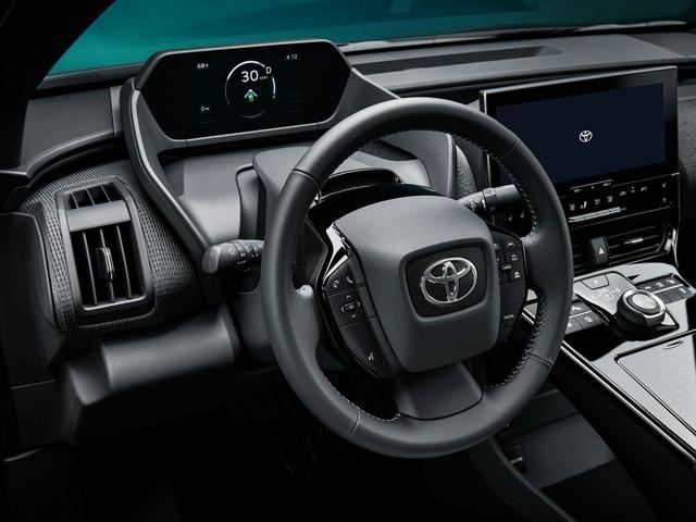 Ra mắt Toyota bZ4X concept - RAV4 chạy điện, tương lai của Toyota - Ảnh 5.