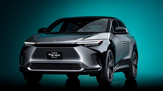 Ra mắt Toyota bZ4X concept - RAV4 chạy điện, tương lai của Toyota