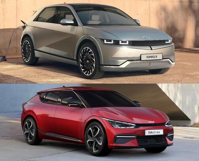 Thời xe điện tới rồi, nhắm Kia EV6 hay Hyundai Ioniq 5: Cùng ruột, khác vỏ - Ảnh 2.