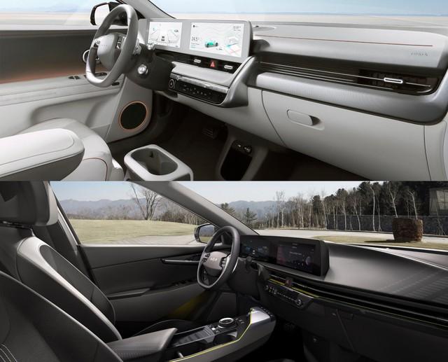 Thời xe điện tới rồi, nhắm Kia EV6 hay Hyundai Ioniq 5: Cùng ruột, khác vỏ - Ảnh 3.