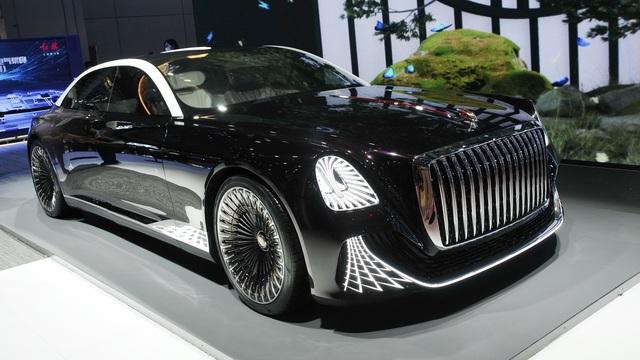 Hongqi L-Concept: Xe siêu sang cho ông chủ, tham vọng đấu Rolls-Royce và Bentley