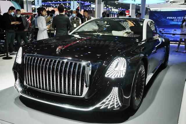 Hongqi L-Concept: Xe siêu sang cho ông chủ, tham vọng đấu Rolls-Royce và Bentley - Ảnh 1.