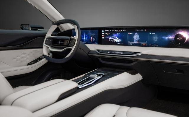 Lincoln Zephyr Reflection - Sedan hạng sang có màn hình khủng như rạp phim mà Ford dành cả tâm huyết đầu tư - Ảnh 3.