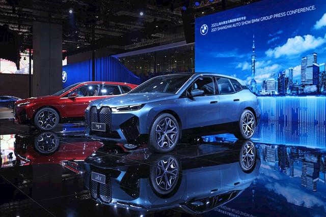 Triển lãm ô tô Thượng Hải 2021 - Cuộc biểu dương lực lượng của các hãng lớn ở mảng xe điện - Ảnh 2.