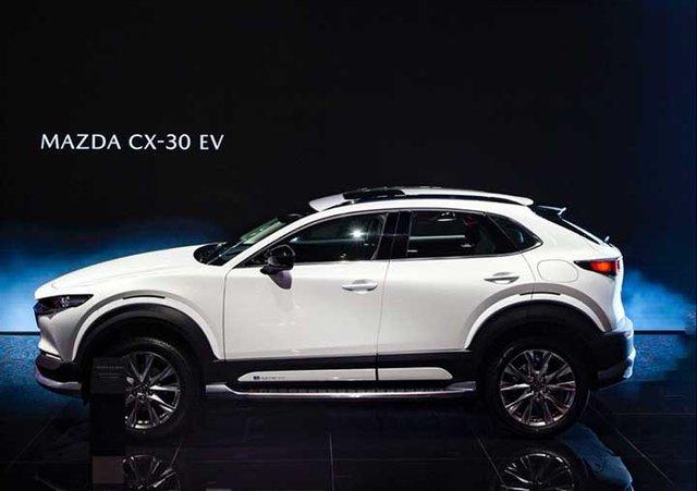 Vừa ra mắt Việt Nam, Mazda CX-30 đã bổ sung bản chạy điện được lắp ráp ở Trung Quốc - Ảnh 2.