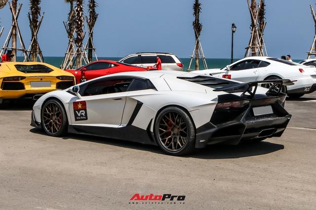 Bị bong gân, hot girl 9x vẫn lái Lamborghini Aventador thoăn thoắt từ Sài Gòn đến Mũi Né - Ảnh 5.