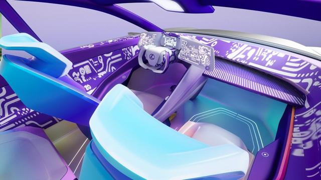 Thích hay không thích, đây có thể là nội thất tương lai của Lexus mà các đại gia phải làm quen