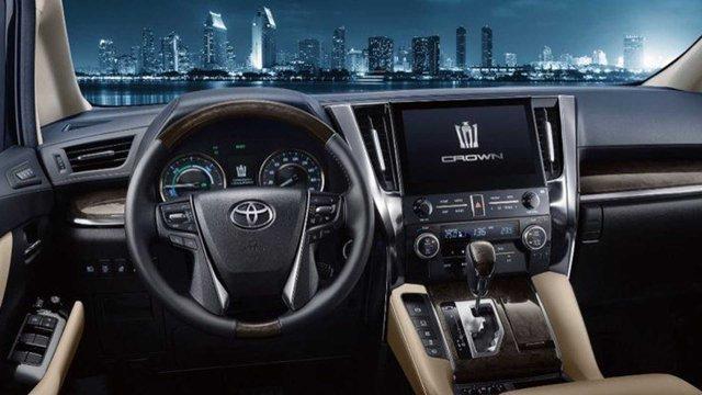 Xe chủ tịch Toyota Crown có thêm bản minivan, giá quy đổi từ 3,2 tỷ đồng - Ảnh 2.
