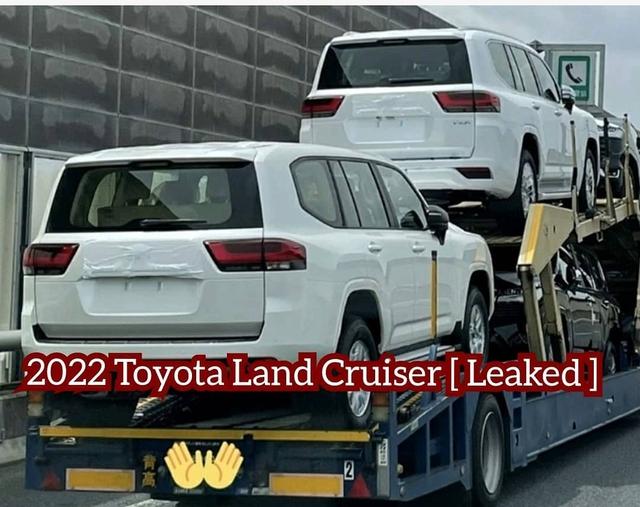 Clip: Soi cận mặt lô Toyota Land Cruiser 2022 với thiết kế lột xác trước ngày mở bán - Ảnh 1.