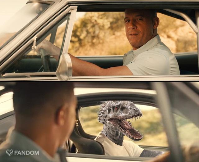 Fast & Furious có thể sẽ kết hợp với thế giới khủng long Jurassic World - Ảnh 1.