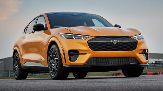 Đỉnh cao SUV điện Ford Mustang Mach-E GT chính thức mở bán, giá khởi điểm ngang BMW X5 - Ảnh 1.