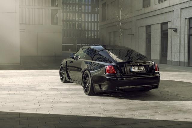 Độ Rolls-Royce phải như thế này: Wraith Black Badge đen toàn tập, công suất tăng lên tới 707 mã lực - Ảnh 2.