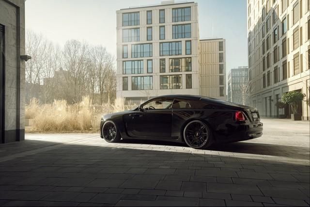 Độ Rolls-Royce phải như thế này: Wraith Black Badge đen toàn tập, công suất tăng lên tới 707 mã lực - Ảnh 4.