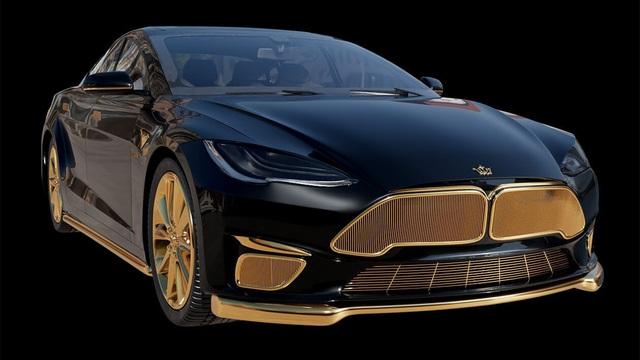 Chơi xe kiểu nhà giàu: Chi 7 tỷ mua cặp Tesla và iPhone 12 mạ vàng giới hạn 99 đôi trên toàn thế giới