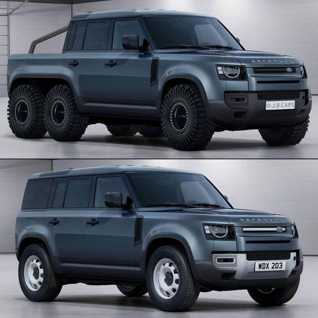 Giấc mơ Land Rover Defender bán tải sắp thành hiện thực, Mercedes-Benz G-Class phải dè chừng - Ảnh 4.