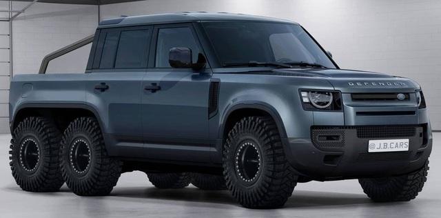 Giấc mơ Land Rover Defender bán tải sắp thành hiện thực, Mercedes-Benz G-Class phải dè chừng - Ảnh 2.