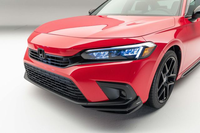 Chi tiết Honda Civic 2022 ngoài đời thực: Sang chảnh hơn, giảm chất thể thao, thêm nhiều trang bị bắt kịp thời đại, phả hơi nóng lên Mazda3 - Ảnh 5.
