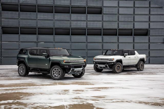 Ra mắt GMC Hummer EV SUV: Hummer nhanh nhất lịch sử, sức mạnh đủ khiến Lamborghini Urus hít khói - Ảnh 3.