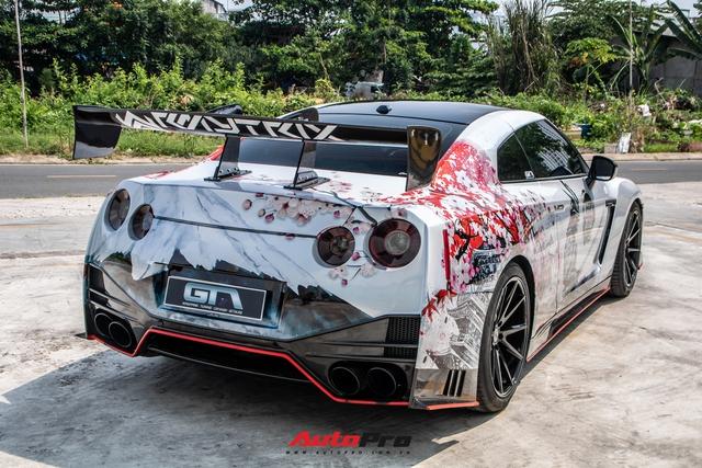 Chia tay đại gia lan đột biến, Nissan GT-R độ độc khoác áo mới đậm chất Nhật Bản - Ảnh 7.