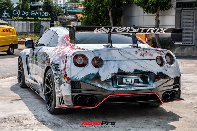 Chia tay đại gia lan đột biến, Nissan GT-R độ độc khoác áo mới đậm chất Nhật Bản - Ảnh 8.