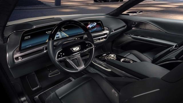 Lộ diện Cadillac Lyriq phiên bản cận hoàn thiện cạnh tranh Porsche Macan, Mercedes EQC và Audi E-Tron - Ảnh 3.