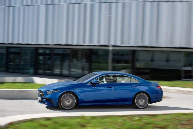 Ra mắt Mercedes-Benz CLS 2022 - Bản coupe trẻ hóa của S-Class - Ảnh 1.