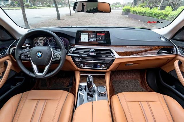 Chưa kịp bóc hết nilon, đại gia Việt bán BMW 530i vừa mua giá 2,5 tỷ để chờ bản facelift sắp ra mắt - Ảnh 3.