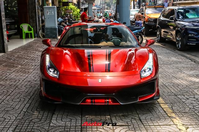 Cận cảnh Ferrari 488 Pista Spider thứ hai về Việt Nam: Nhiều chi tiết carbon gây ấn tượng về mặt thị giác - Ảnh 5.