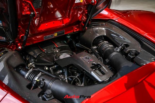 Cận cảnh Ferrari 488 Pista Spider thứ hai về Việt Nam: Nhiều chi tiết carbon gây ấn tượng về mặt thị giác - Ảnh 12.