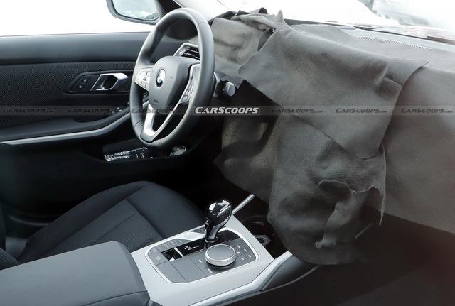 BMW 3-Series 2021 lộ diện: Nội thất sẽ thay đổi không ngờ với màn cong ấn tượng - Ảnh 2.