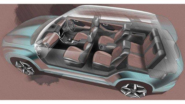 Ra mắt Hyundai Alcazar - Đàn em Santa Fe, 3 hàng ghế 7 chỗ, trang bị đủ dùng - Ảnh 2.