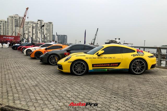 Dàn xe trăm tỷ của đại gia Sài Gòn tụ hội trước hành trình siêu xe 2021 gây choáng ngợp - Ảnh 2.