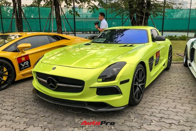 Dàn xe trăm tỷ của đại gia Sài Gòn tụ hội trước hành trình siêu xe 2021 gây choáng ngợp - Ảnh 10.