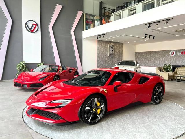 Ferrari SF90 Stradale của nữ đại gia 9x biến thành bản độc sau khi qua tay showroom, dân tình chờ đón siêu phẩm LaFerrari mới - Ảnh 5.