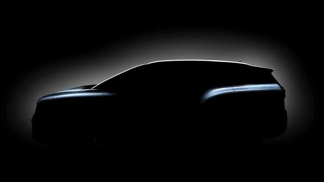 Volkswagen tung teaser SUV 3 hàng 'bán chạy nhất tương lai', video leak lộ nguyên thiết kế - Ảnh 1.