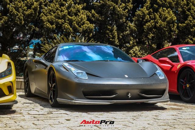 Đổi chủ, Ferrari 458 Italia cũ của Tống Đông Khuê lên màu áo mới - Ảnh 1.