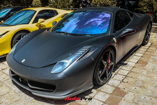 Đổi chủ, Ferrari 458 Italia cũ của Tống Đông Khuê lên màu áo mới - Ảnh 2.