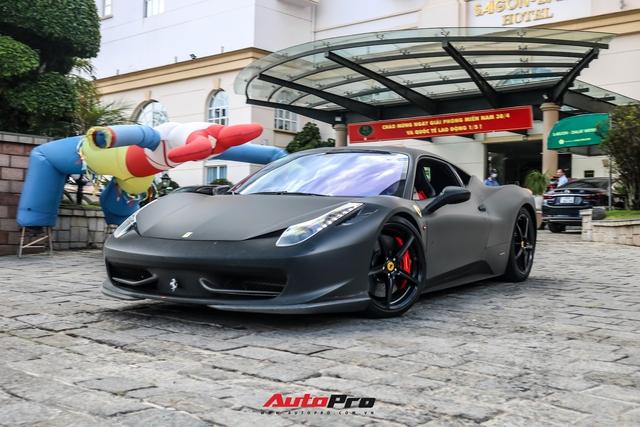 Đổi chủ, Ferrari 458 Italia cũ của Tống Đông Khuê lên màu áo mới - Ảnh 7.