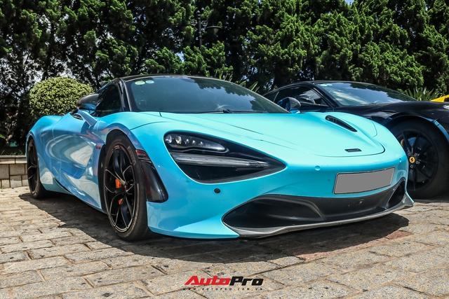 Cận cảnh ngoại thất mới đổi màu của McLaren 720S Spider thuộc sở hữu của 'dân chơi' lan đột biến