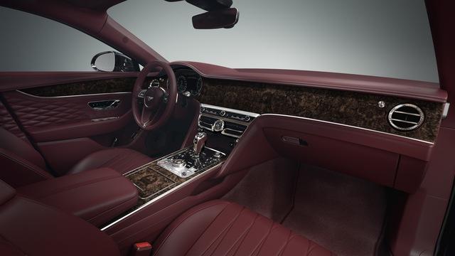 Bentley Flying Spur được nâng cấp: Cabin yên tĩnh, thêm trang bị đấu Rolls-Royce Ghost - Ảnh 2.