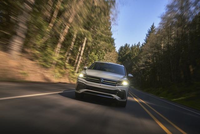 Ra mắt Volkswagen Tiguan Allspace 2022: Thêm đèn ma trận, màn hình lớn, sẽ về Việt Nam cạnh tranh Mercedes-Benz GLB - Ảnh 10.