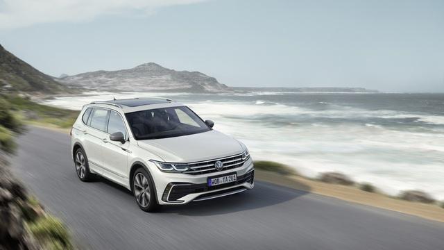 Ra mắt Volkswagen Tiguan Allspace 2022: Thêm đèn ma trận, màn hình lớn, sẽ về Việt Nam cạnh tranh Mercedes-Benz GLB - Ảnh 5.