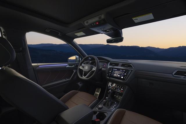 Ra mắt Volkswagen Tiguan Allspace 2022: Thêm đèn ma trận, màn hình lớn, sẽ về Việt Nam cạnh tranh Mercedes-Benz GLB - Ảnh 6.
