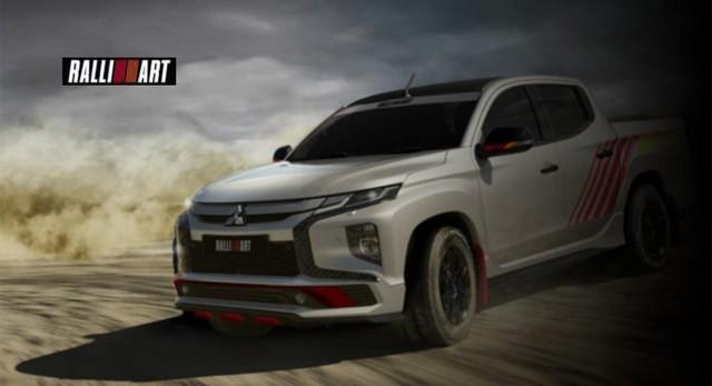 Mitsubishi hồi sinh thương hiệu Ralliart: Triton sẽ có bản đấu Ford Ranger Raptor - Ảnh 1.
