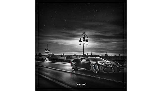 Siêu xe giá khủng nhất thế giới Bugatti La Voiture Noire đã hoàn thiện, sẵn sàng chờ ngày ra mắt - Ảnh 4.