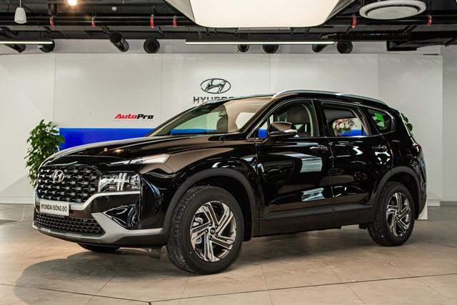 Hyundai Santa Fe 2021 bản rẻ nhất sẽ chỉ có option thế này: Cắt nhiều nhưng tiết kiệm hơn 300 triệu - Ảnh 2.