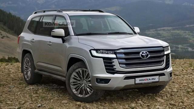 Nồi đồng cối đá Toyota Land Cruiser đời mới sẽ ra mắt ngay tháng này - Ảnh 1.