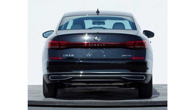Volkswagen Passat 2021 lộ diện trước giờ G: Đèn hậu kéo dài kiểu Porsche - Ảnh 2.